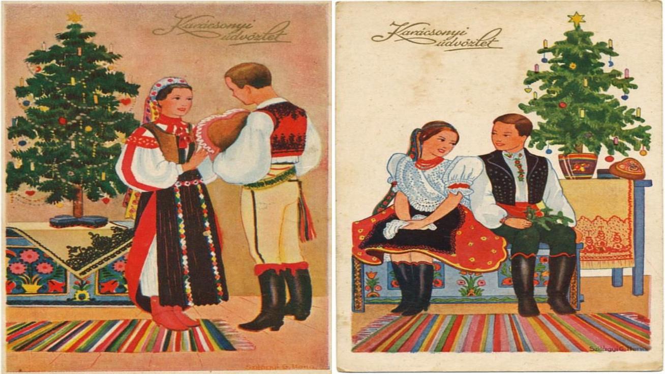antik képeslap cover