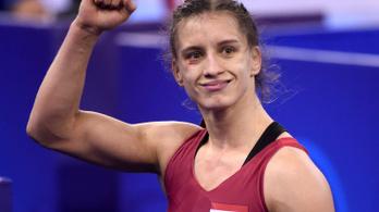 Barka Emese bronzérmet nyert a budapesti birkózó-vb-n