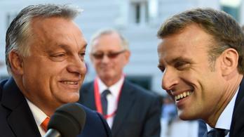 Macron: Nem folytatok személyes hadjáratot, jó a kapcsolatom Orbánnal
