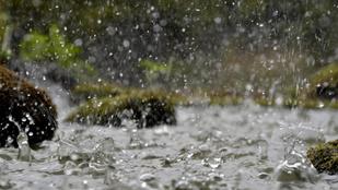 25 fok és eső jön hétvégére