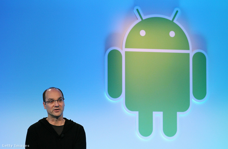 Andy Rubin 2011-ben az Android 3.0 bemutatóján