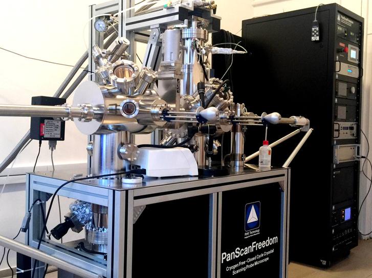 Mivel látjuk az atomokat? Pásztázó alagútmikroszkóp az MTA Energiatudományi Kutatóközpontban