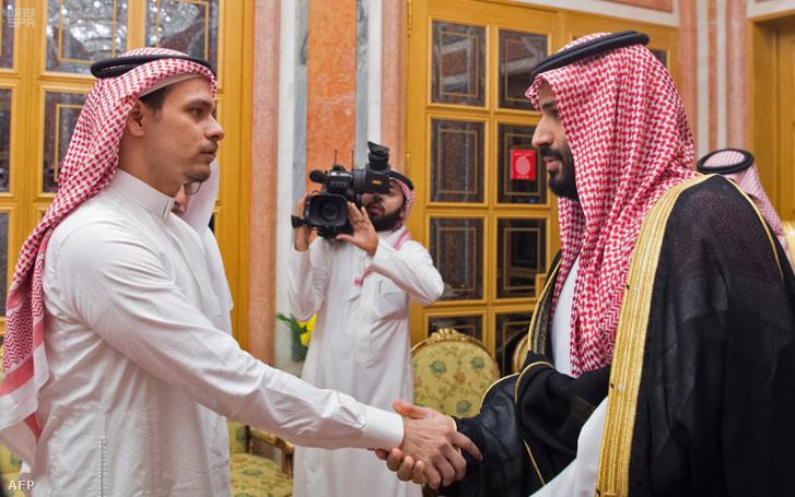 Szalah bin Dzsamal Hasogdzsi és Mohamed bin Szalmán