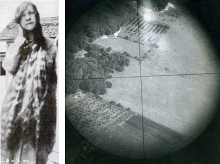 Mary Babnik Brown, akinek a haját bombacélzó készülékekhez használták