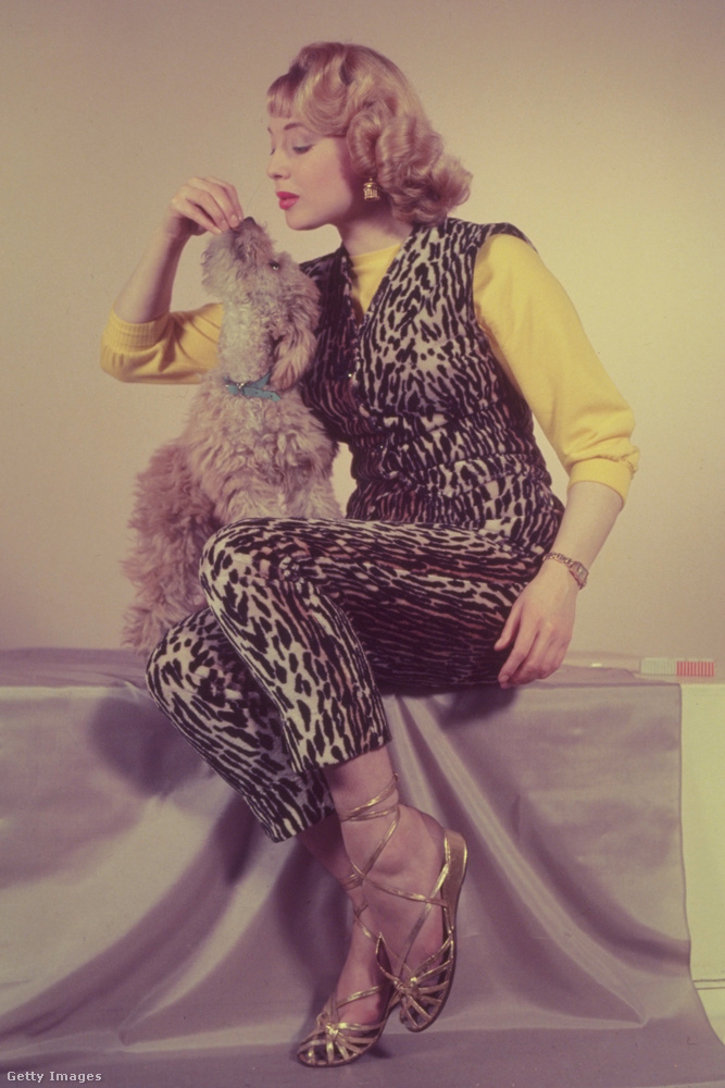 ...míg a párducmintás, nem szőrméből készült ruhadarabok a vadabb, független nőké