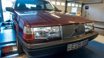 Totalcar Erőmérő: Volvo 940 GLE – 1991.