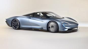 Ez a Speedtail, az új, ezer lóerős szuper-McLaren