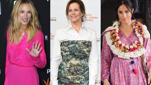 Nem Julia Roberts volt az egyetlen, aki a héten kicsit túltolta a divatozást