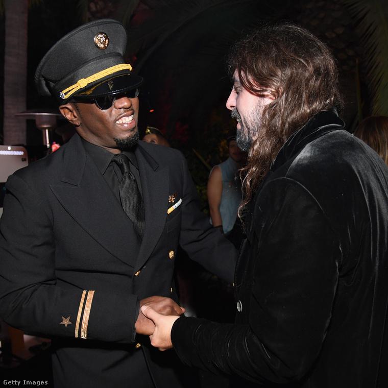 Dave Grohl a Foo Fightersből pedig Puff Daddyt találta meg.