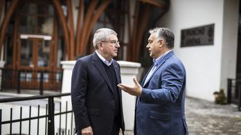 Orbán a pincétől a padlásig mindent megmutatott a NOB-elnöknek Felcsúton