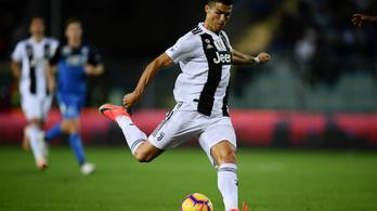 Ronaldo bombagóljával nyert a Juventus