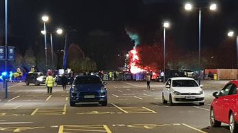 Lezuhant a Leicester City tulajdonosának helikoptere
