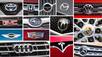 Itt a 29 legmegbízhatóbb autómárka listája