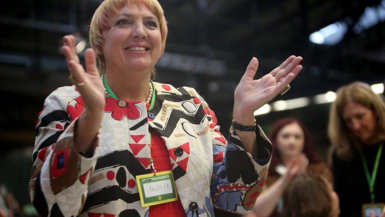Claudia Roth: Földrengés lesz Berlinben