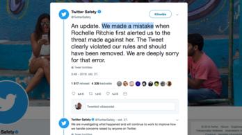 A Twitter bocsánatot kért, mert nem vette komolyan a levélbombás fenyegetését