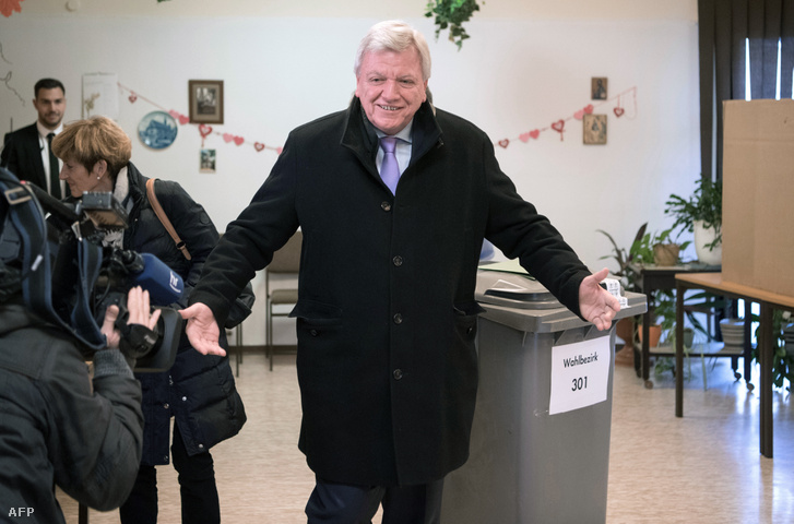 Volker Bouffier, Hessen tartományi kormányfője (CDU)