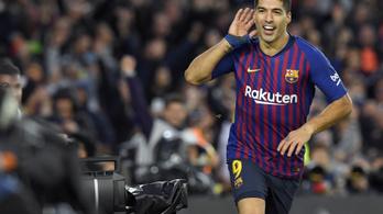 Barca-Real: 5-1 Messi nélkül is