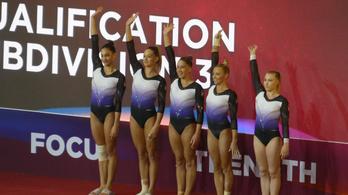 Útban az olimpia felé a női tornacsapat