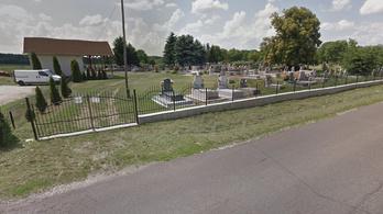 Ellopták az egerlövői temető kovácsoltvas kerítését