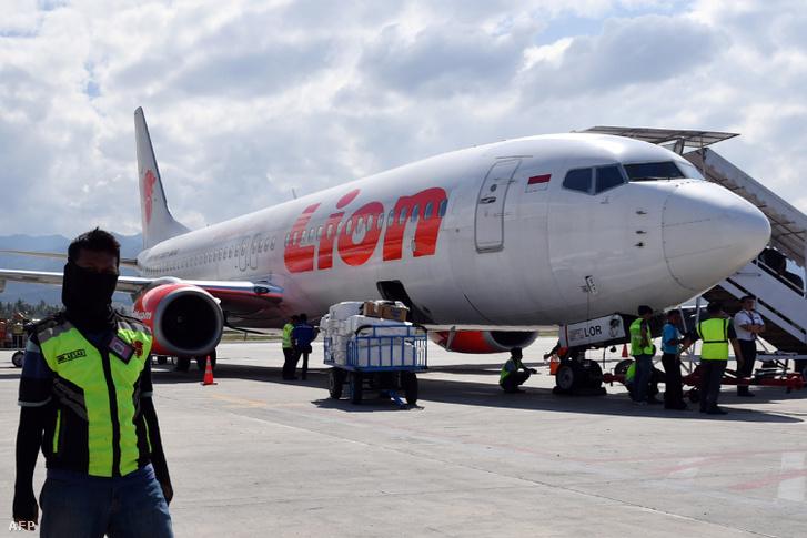 A légitársaság egy hasonló gépe 2018 október 10-én