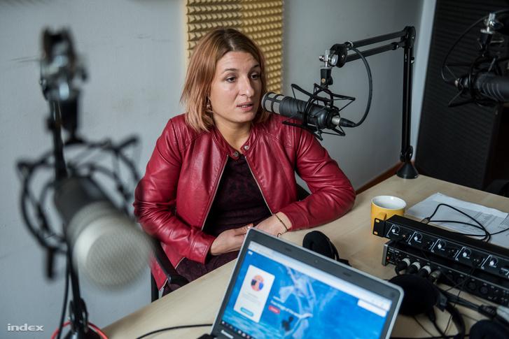 Kalota Ágnes, az Utcajogász Egyesület társelnöke
