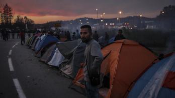 Veszélyes játékot űznek a menekültek a horvát–bosnyák határon