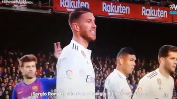 Piqué kérte a közönséget, ne anyázzák Ramost