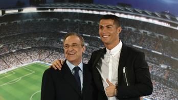 Ronaldo: Az elnök miatt hagytam el a Real Madridot