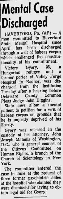 Gettysburg Times szeptember 3-i cikke