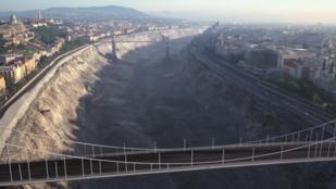 A kiszáradt Duna nem elég, sztori is kell