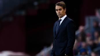 A Barcelona elleni 1-5 után a Real Madrid kivágta Julen Lopeteguit