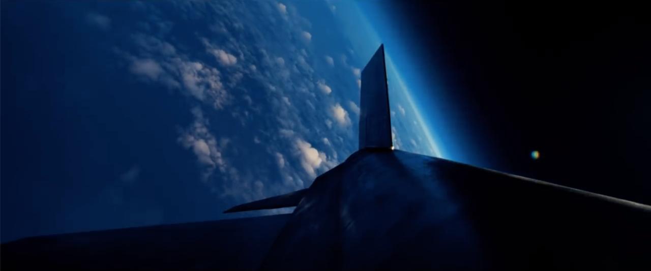 A film in medias res kezdődik Armstrong egyik X-15-ös tesztrepülésével. A fiatal pilóta az űr határáig repül a NASA rakétahajtású kísérleti űrepülőgépével, majd némi bonyodalom után sikeresen landol egy kiszáradt kaliforniai tómederben.