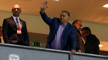 Titok, hogy mivel repült Orbán a Vidi görög meccsére