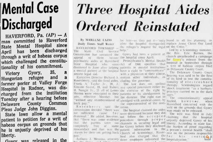 A Gettysburg Times szeptember 3-i cikke (b) és a Delaware County Daily Times 1970. január 6-i cikkeA teljes cikkekért kattintson!