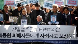 II. világháborús kártérítésre ítélték a Nippon Steelt