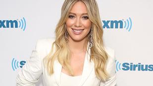 Otthon szülte meg második gyermekét Hilary Duff