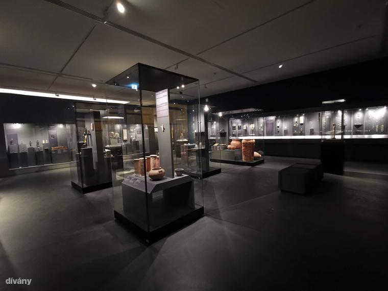 Bementünk az Ókori Egyiptom Kiállításra, ez állandó lesz a múzeumban
