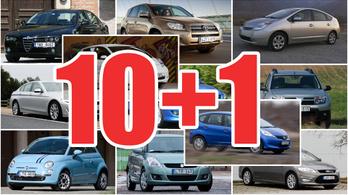 10+1 használt autó, ami megéri a pénzét