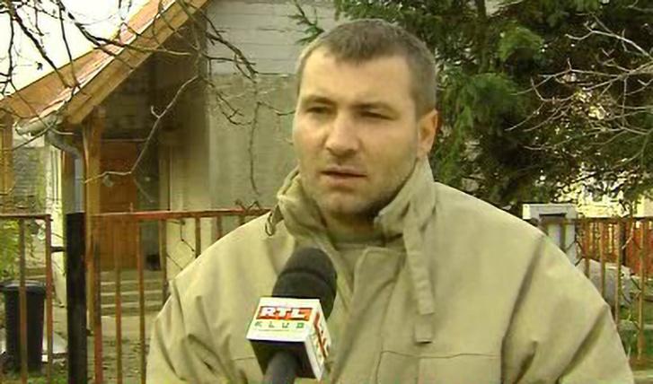 Szebenyi István az RTL Klub egy régebbi riportjában