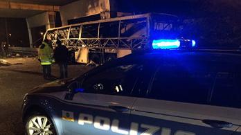 Nem ment el a sofőr a veronai busztragédia első bírósági tárgyalására