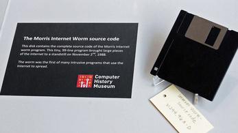 Az első netes kártevő az internet 10 százalékát megbénította