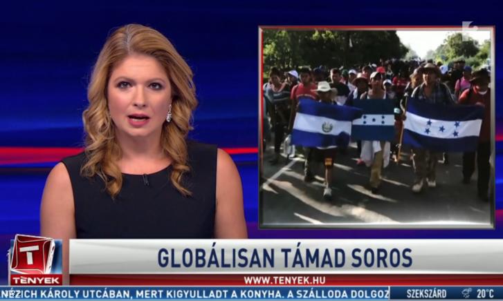 A TV2 Tények adása 2018. október 28-án