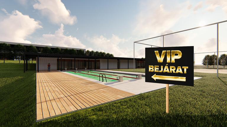 VIP-klub egy teniszakadémián? Kisvárda a megfejtés