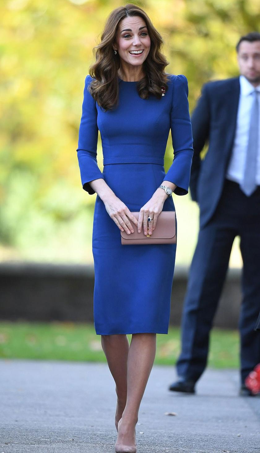 Katalin hercegné nagyon csinos volt, amikor meglátogatta a Birodalmi Hadtörténeti Múzeumot szerdán Londonban.