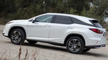 Teszt: Lexus RX 450h L – 2018.