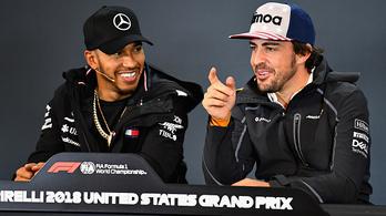 Hamilton: Alonso azt hitte, ő irányítja a pilótapiacot