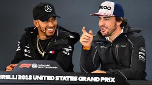 Hamilton: Alonso túl sokat képzelt magáról