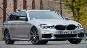 Teszt: BMW M550d xDrive Touring – 2018.
