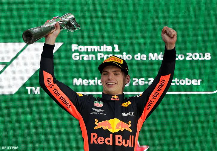 Max Verstappen a Mexikói Nagydíj után