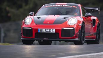 Megint a Porschénál a nürburgringi rekord (illetve mégse)